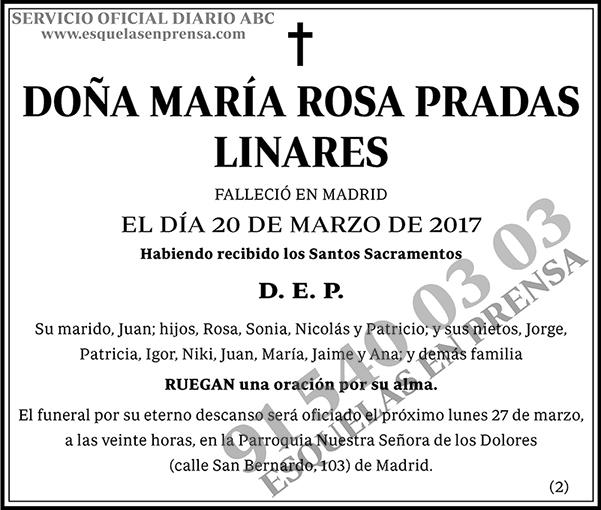 María Rosa Pradas Linares